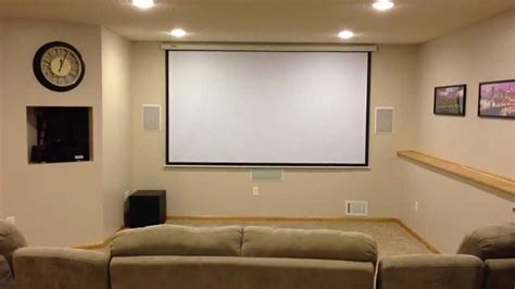 home theatre design on a budget home theater on a budget overview youtube