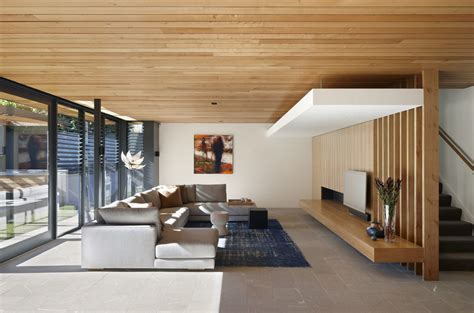 wood living room modern meets traditional the lovely hawthorn house in
