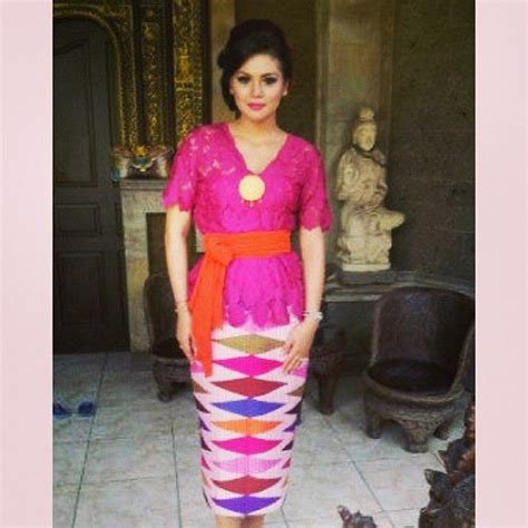 dress design rangrang sabuk kebaya bali google nggoleki fashion pinterest
