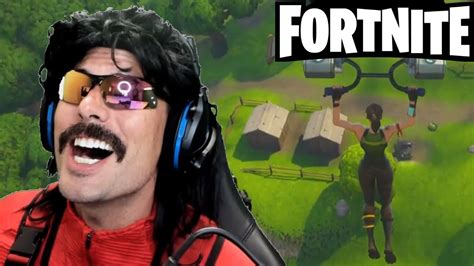 who plays fortnite drdisrespect plays fortnite new battle royale