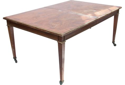 large reproduction dining table from the 1930s