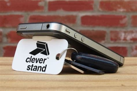 Will The Real Iphone Stand Up Chip by Clever Stand Tries To Be Clever For The Iphone 4 Chip