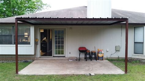 Carports Awnings by Attached Porch Awning Northwest San Antonio Carport