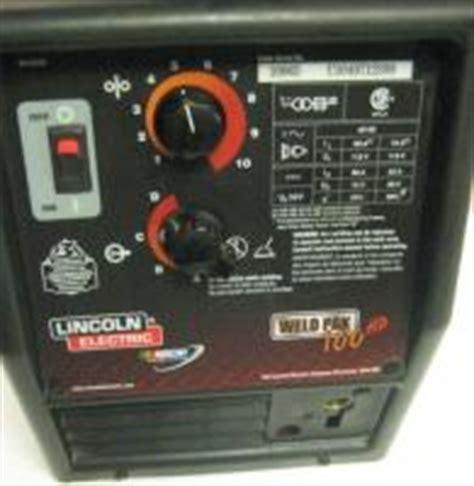 lincoln weldpak 100 lincoln weldpak 100 deals on 1001 blocks