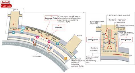 layout bandara soekarno hatta jal international flights soekarno hatta international