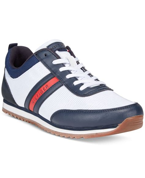 hilfiger shoes hilfiger fonzie sneakers in blue for lyst