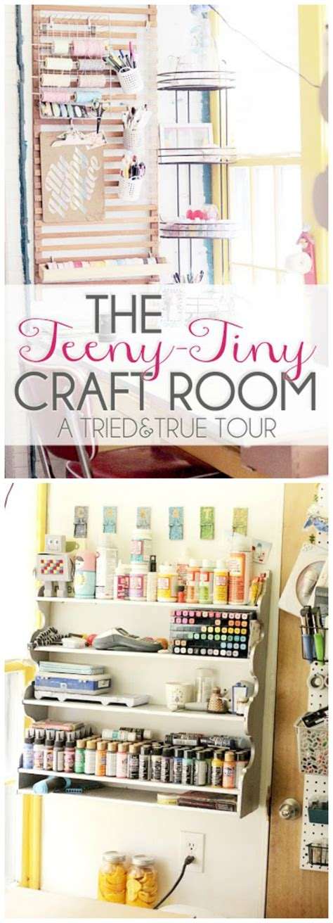 craftaholics anonymous 174 craft room tour amanda at the craftaholics anonymous 174 small craft room tour vanessa