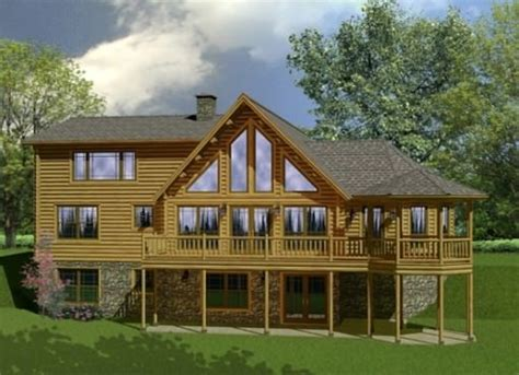 Katahdin Log Home Floor Plans by Custom Log Home Floor Plans Katahdin Design Portfolio
