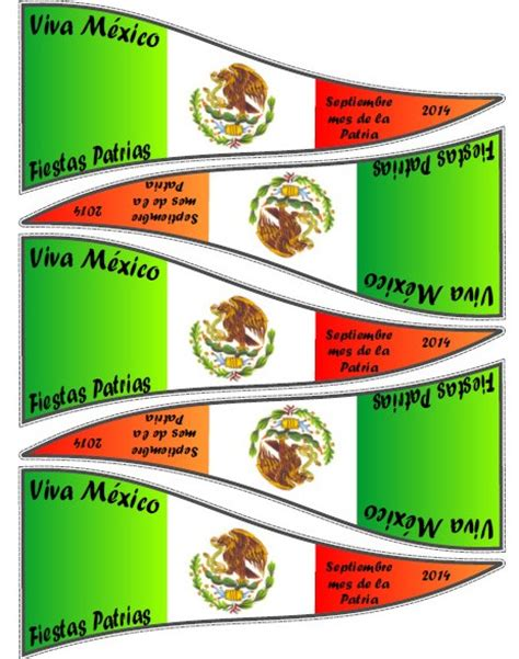 ideas para decorar un salon de zumba banderines patrios para recortar material educativo