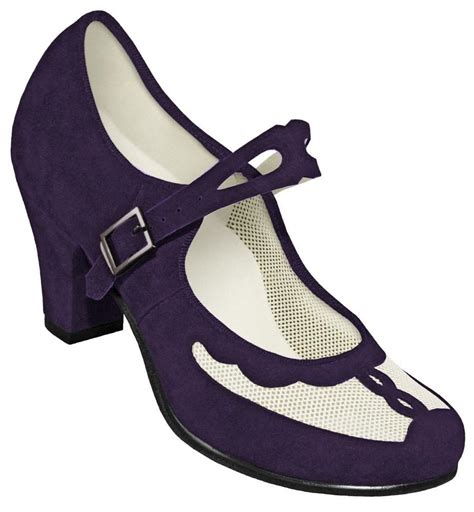 aris allen swing dance shoes aris allen indigo and ivory 1940s velvet and mesh mary
