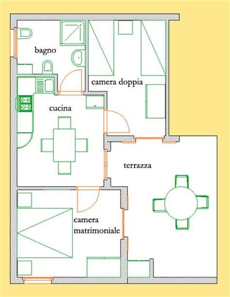 appartamento pianta appartamento e n residence corsaro donnalucata