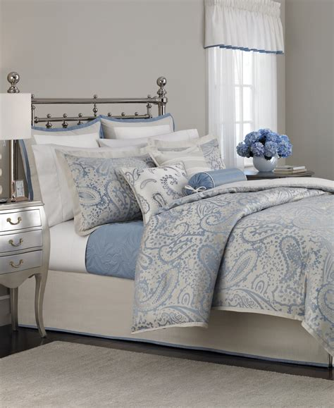 bed and bath comforter sets martha stewart collection gemstone paisley 22 piece
