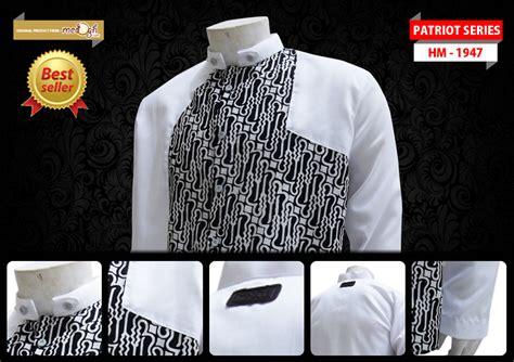 Batik Asimetris Series trend fashion lebaran 2013 untuk pria