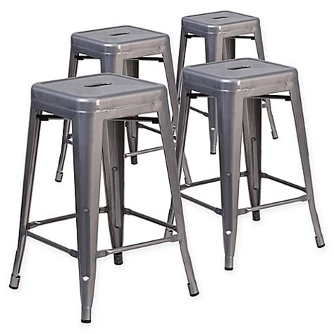 24 Inch Backless Stools by Buy Flash Furniture 24 Inch Backless Stackable Bar Stools