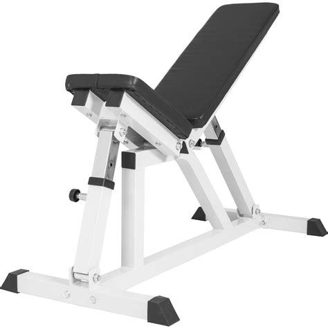 bon banc de musculation banc de musculation multipositions blanc gs004