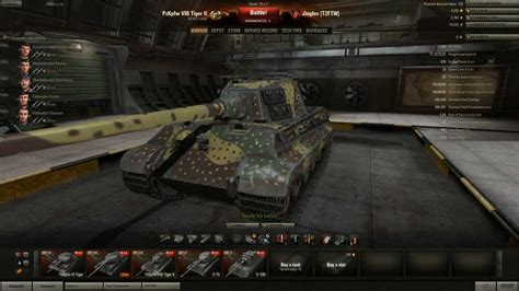 wot ii world of tanks tiger ii tier 8 heavy tank still got it