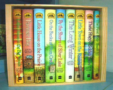 little house on the prairie book hard cover boxed set of little house books laura ingalls wilder historic home