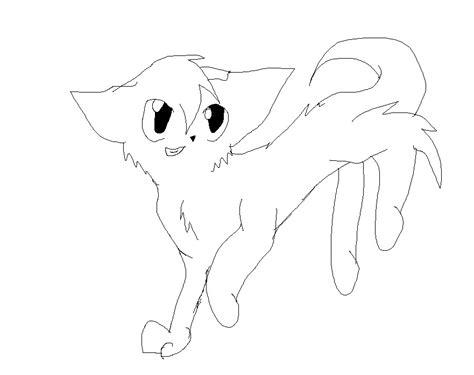 warrior cat template by cinderfall129 on deviantart