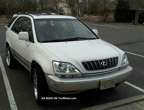 2001 Lexus Rx300 Rx 300 Truck Pearl White W Add Ons 20