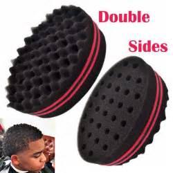 sponge coils hair magic twist hair curl sponge brush coil wave for natural