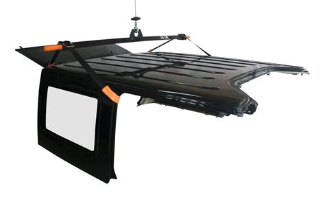 jeep wrangler top removal one person j barr jeep wrangler hardtop removal hoist systems fit
