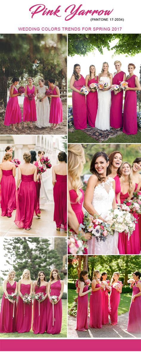 top colors for 2017 top 10 bridesmaid dresses colors for spring 2017 inspired