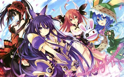 anime comedy live date a live favorite shows characters
