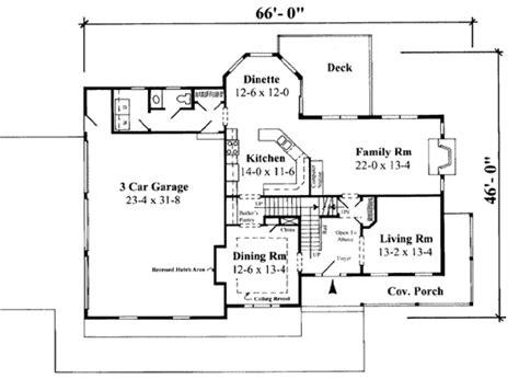 75 sq feet farmhouse style house plan 4 beds 2 5 baths 3067 sq ft