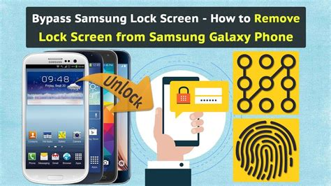 how to bypass the samsung galaxy s4 lock screen password bypass samsung lock screen how to remove lock screen
