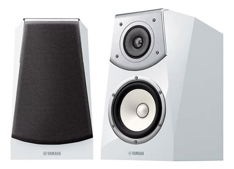 yamaha soavo ns b951 gloss white bookshelf speakers pair
