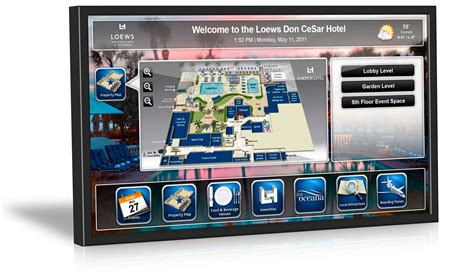 Create Interactive Floor Plan by Digital Signage Wayfinding By Janus Displays
