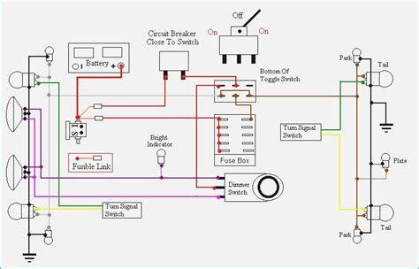 jeep cj headlight wiring diagram bestharleylinks info