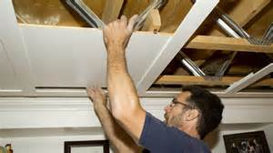 un plafond suspendu prestigieux r 233 novation bricolage