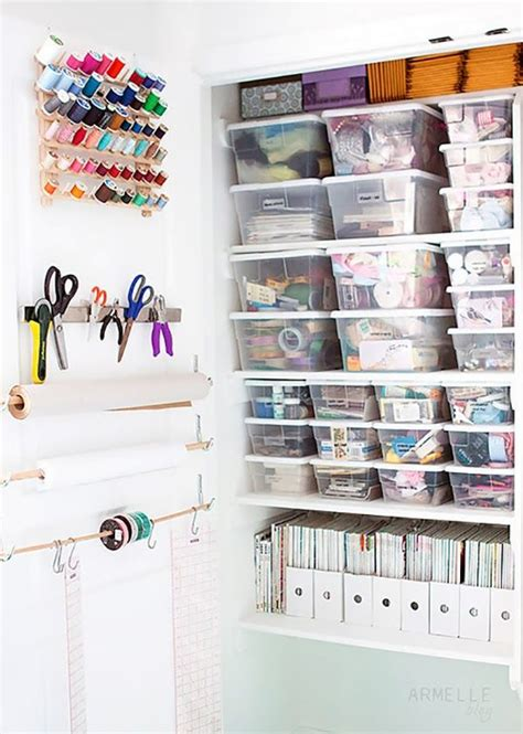 craft room closet storage ideas 24 creative craft room storage ideas craft sewing room