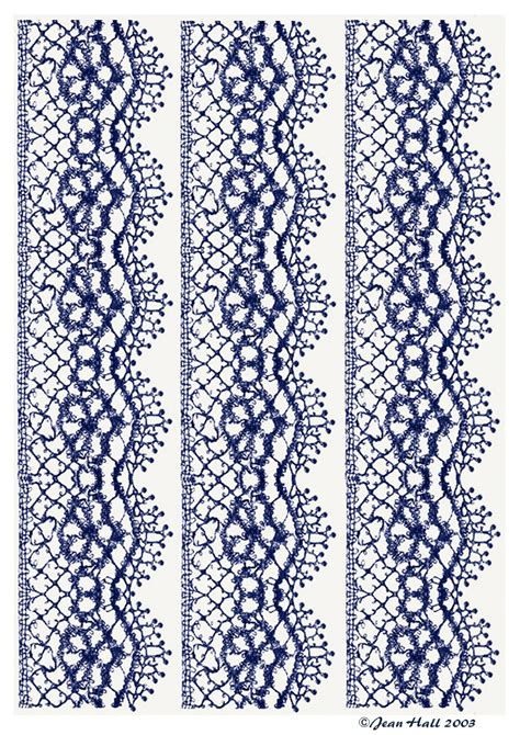 lace pattern types artbyjean images of lace lace edgings in a variety of