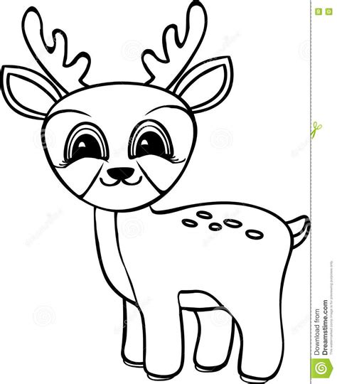 cartoon deer coloring pages deer cartoon black and white adultcartoon co