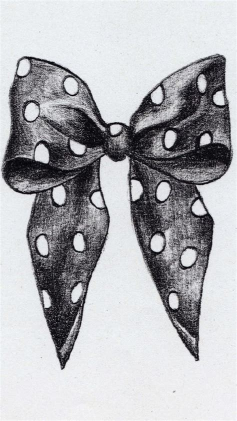A Drawing Of A Bow