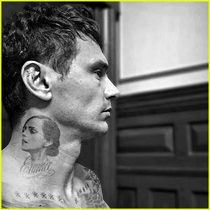 james franco tattoos more news from just jared
