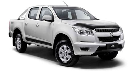 holden introduces a new version of the old colorado