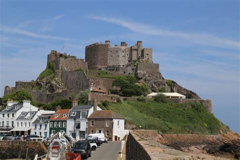 Jersey Castle mont orgueil castle history alive