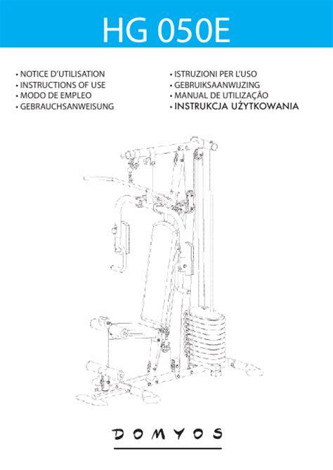 domyos hg50 manuel d installation t 233 l 233 charger pdf