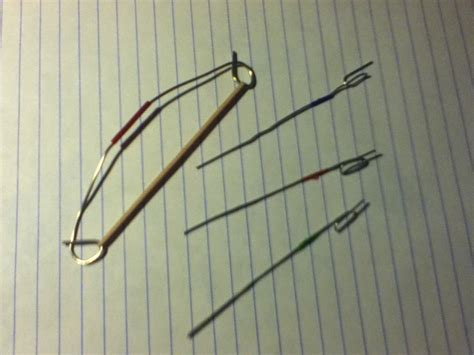 How To Make A Bow And Arrow Paper - paperclip bow and arrows 3 by mynnimon12 on deviantart
