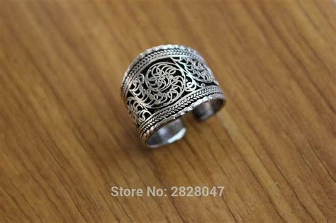 Handmade Rings For - rg078 tibetan silver vintage rings for thumb ring