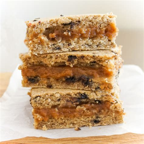 Caramel Almond salted caramel almond blondies the tasty k