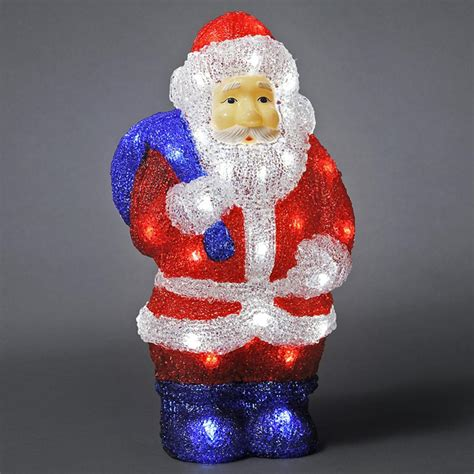 konstsmide 6153 203 led santa outdoor christmas figure