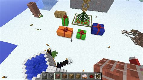 christmas craft minecraft project