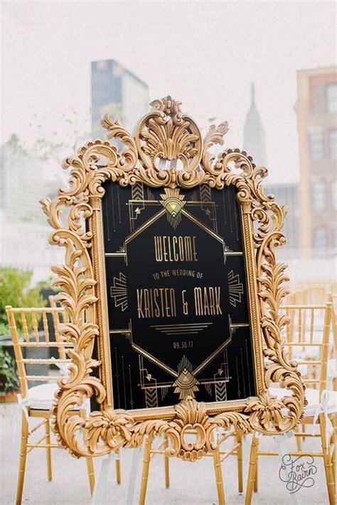 great gatsby vintage wedding ideas   trends