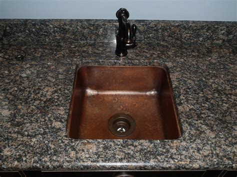 copper undermount bar sink copper bar sinks copper prep custom sinks by circle city