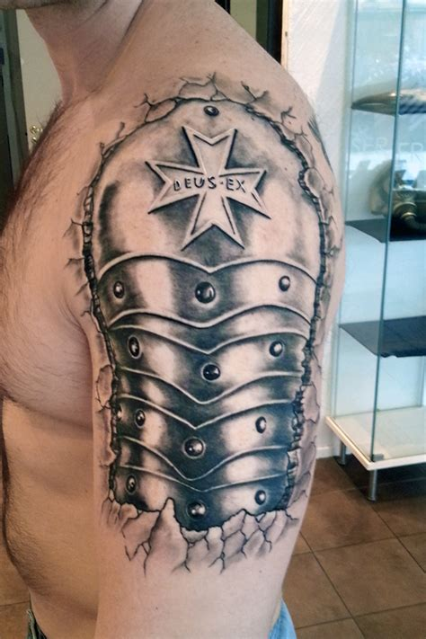 armor shoulder tattoo tattoos on armor armour and
