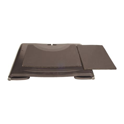 Computer Desk Tray Portable Laptop Notebook Desk Non Slip Tray Black Ebay